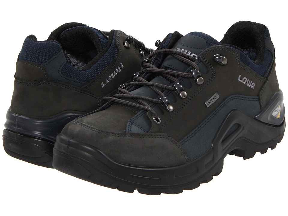 Lowa - Renegade II GTX Lo (Dark Grey/Navy) Men's Shoes