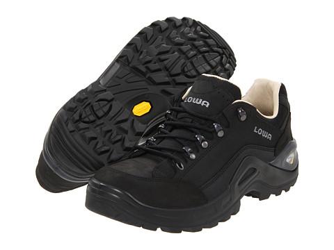 Lowa - Renegade II LL Lo (Black) Men's Shoes