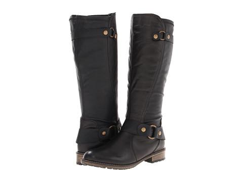 Rieker - R3389 Elaine 89 (Black Leather) Women