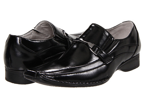 Steve Madden - M-Rigger (Black) Men's Slip-on Dress Shoes