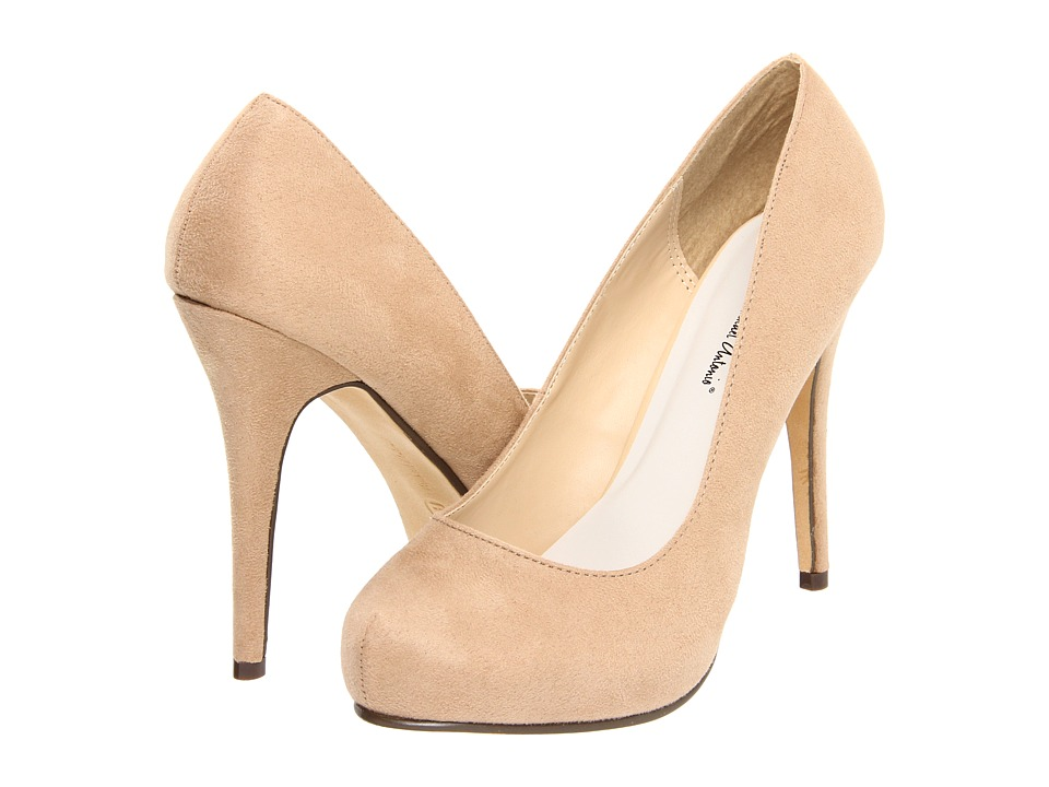 Michael Antonio Love Me Suede 2 (Nude) High Heels