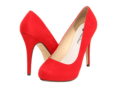 Michael Antonio - Love Me - Suede 2 (Cherry Red) High Heels