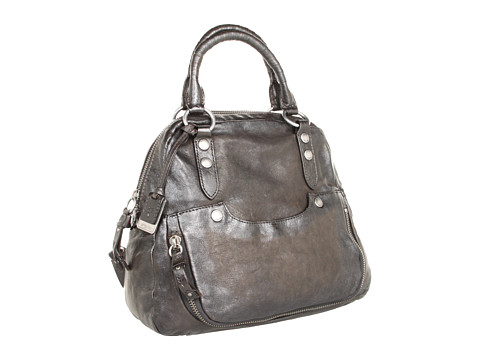 Frye - Elaine Vintage Back Pack (Smoke Antique Pull Up) Satchel Handbags