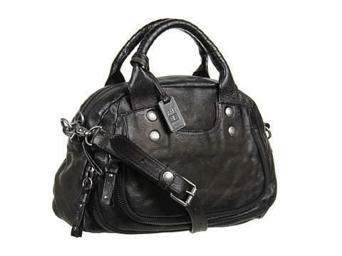 Frye - Elaine Vintage Satchel (Smoke Antique Pull Up) Satchel Handbags