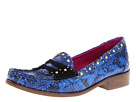 Juicy Couture - Yara (Whale Blue Snake Print) - Footwear