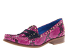 Juicy Couture - Yara (Royal Magenta Snake Print) - Footwear