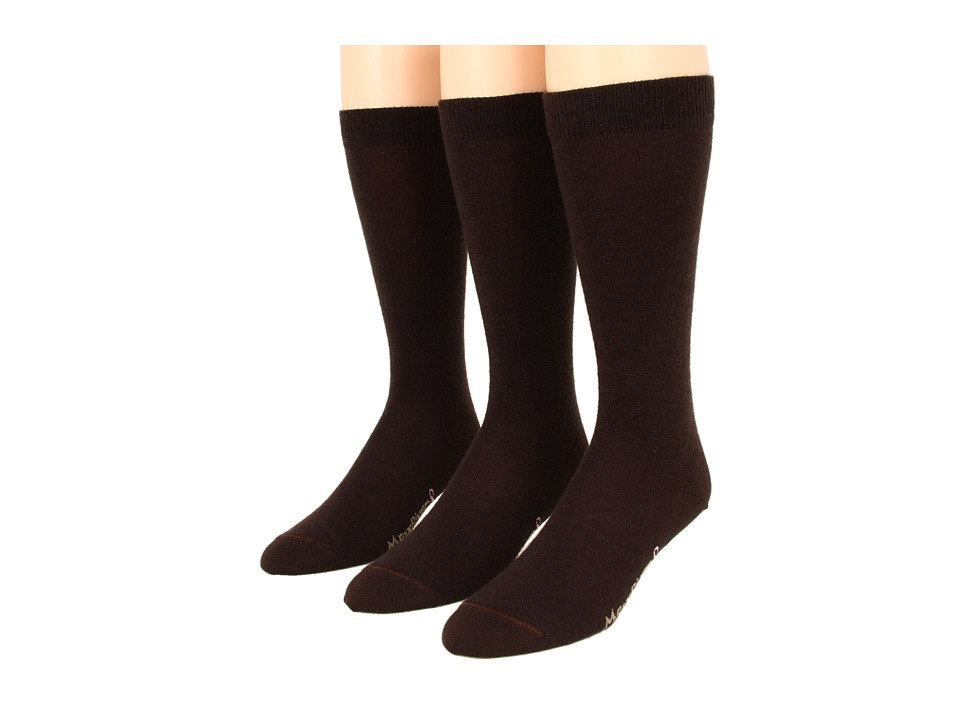 Fox River - Knee-High 3-Pair Pack (Chestnut) Women's Knee High Socks Shoes