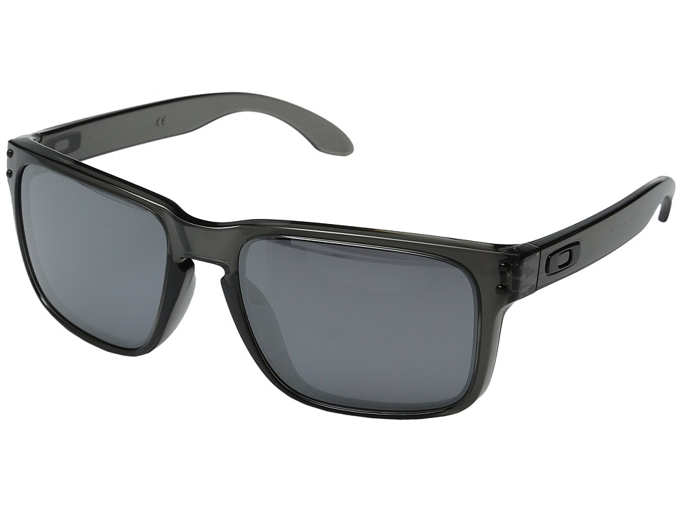 Oakley - Holbrook (Grey Smoke W/ Black Iridium) Sport Sunglasses