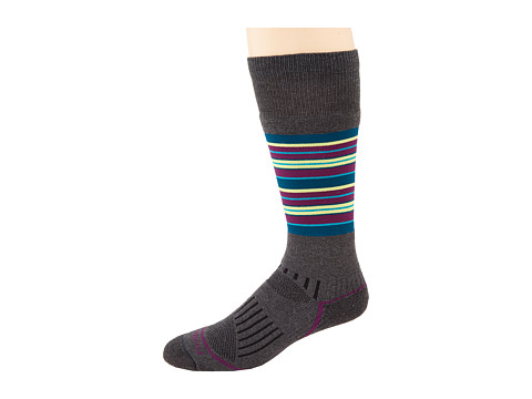 Fox River - Stratton (Dark Charcoal) Women's Crew Cut Socks Shoes