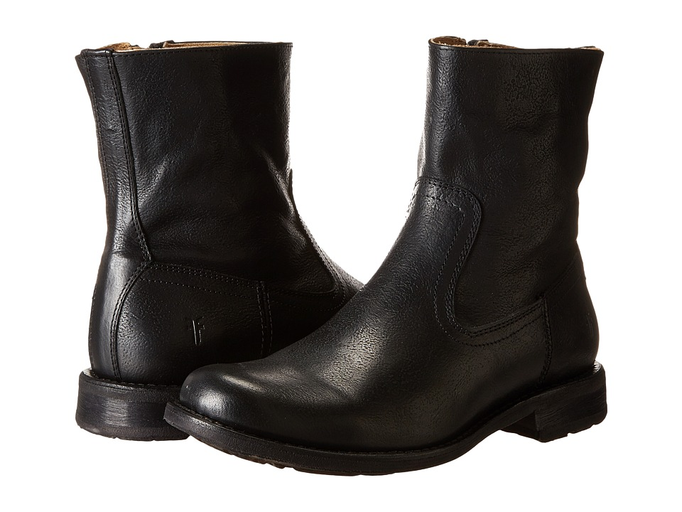 Frye - Bennett Inside Zip (Black) Men's Boots