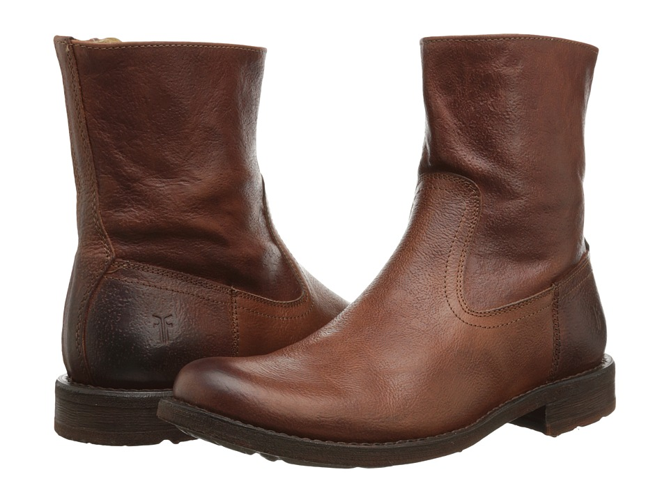 Frye - Bennett Inside Zip (Whiskey) Men