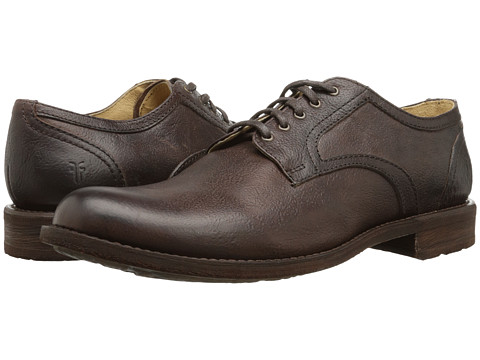 Frye - Bennett Oxford (Dark Brown) Men's Lace up casual Shoes