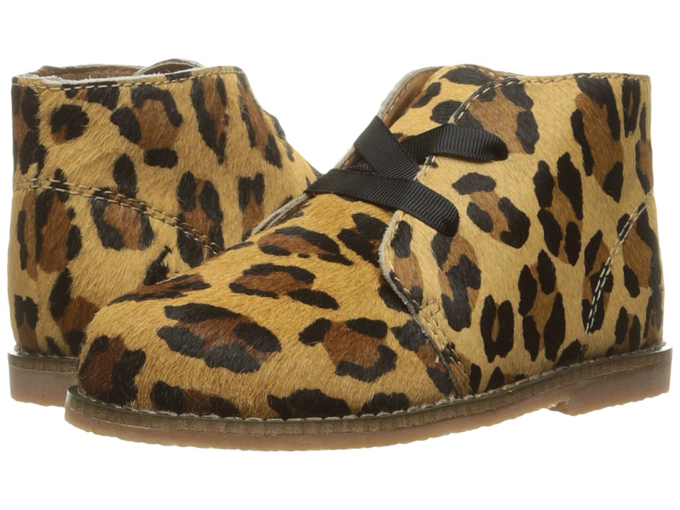 Polo Ralph Lauren Kids - Carl (Infant/Toddler) (Leopard Haircalf) Girl's Shoes