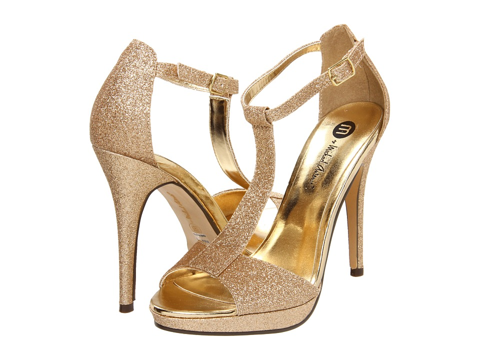 Michael Antonio - Tipton (Gold Glitter) Women's Dress Sandals