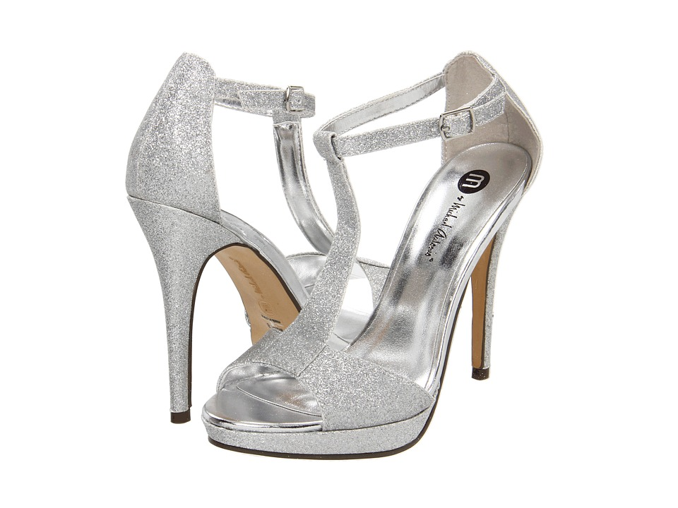 Michael Antonio - Tipton (Silver Glitter) Women's Dress Sandals