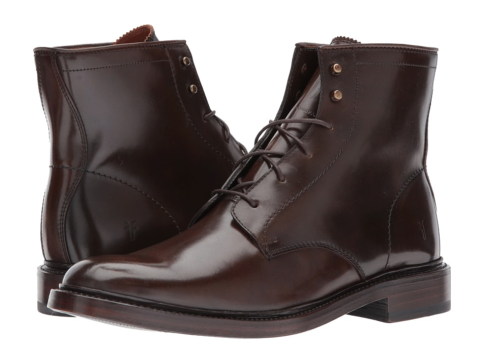 Frye - James Lace Up (Dark Brown/Cordovan) Men's Lace-up Boots