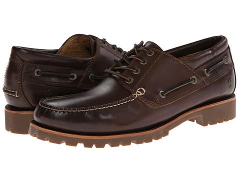 Frye - Sully Lug Boat (Dark Brown) Men