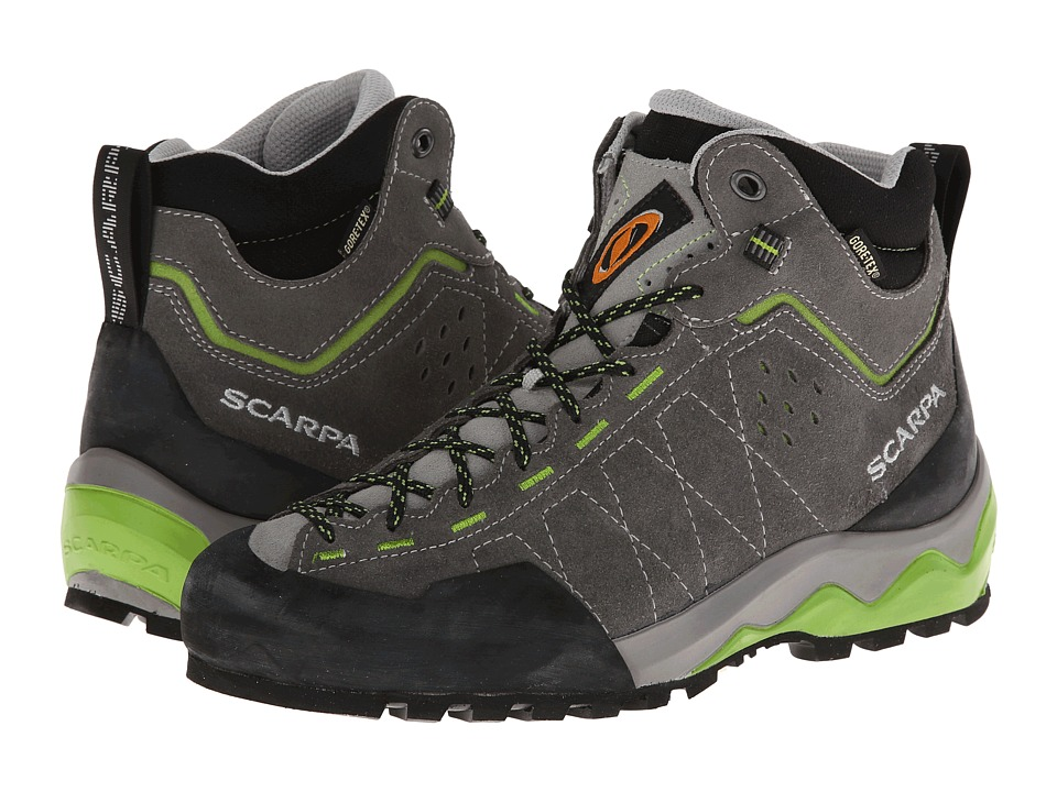 Scarpa - Tech Ascent GTX (Shark) Athletic Shoes