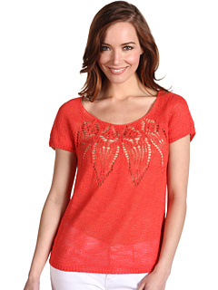 SALE! $31.99 - Save $48 on Lucky Brand Fiji Top (Orange Crush) Apparel - 59.76% OFF $79.50