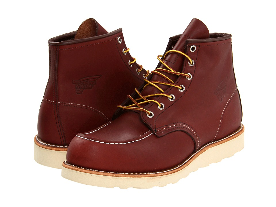 Red Wing Heritage - 6 Moc Toe (Copper Worksmith) Men's Lace-up Boots