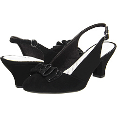 SALE! $17.5 - Save $32 on Easy Street Suite (Black Suede) Footwear - 64.99% OFF $49.99