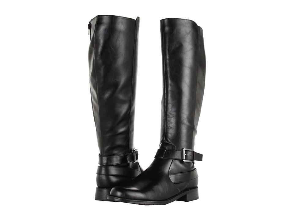Aerosoles - With Pride (Wide Calf) (Black) Women's Zip Boots