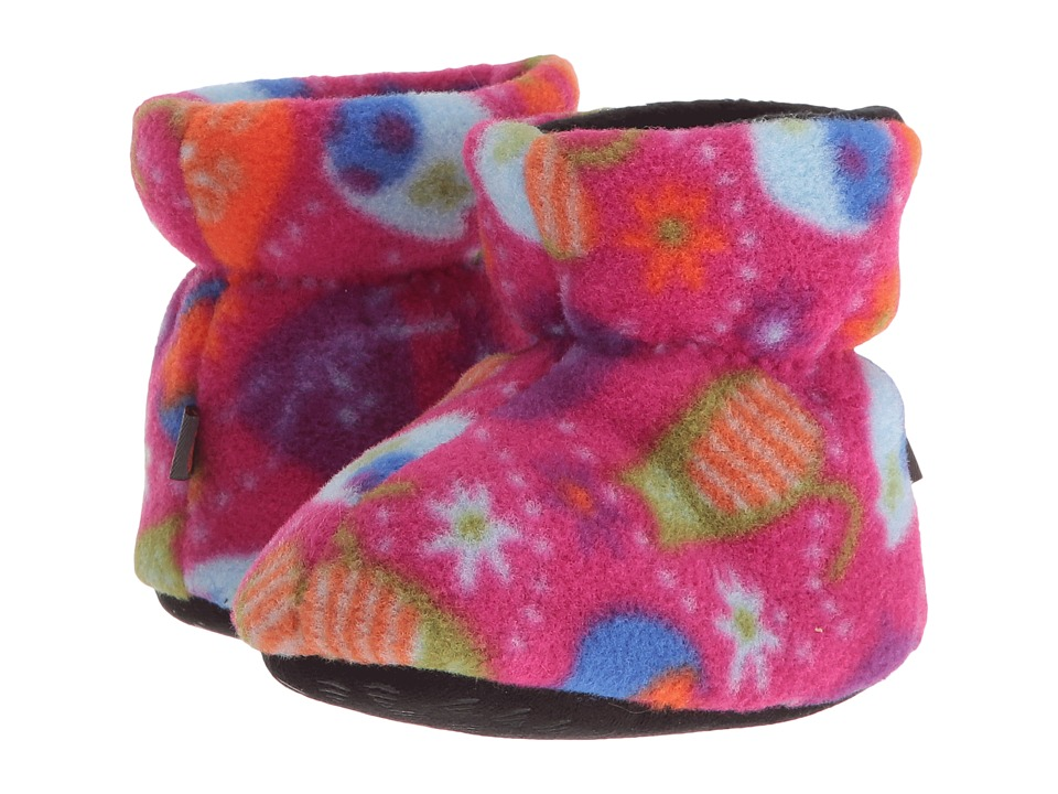Acorn Kids Easy Bootie (Infant/Toddler/Little Kid) (Fat Cat Pink) Kids Shoes