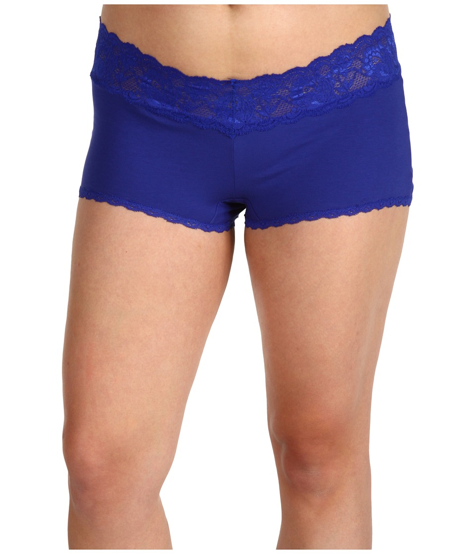 Cosabella - Extended Size Never Say Never Cheekie Hotpant (Ultra Blue) Women's Underwear