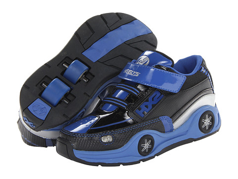 Heelys - Spin (Toddler/Little Kid) (Black/Blue/Silver) Boys Shoes
