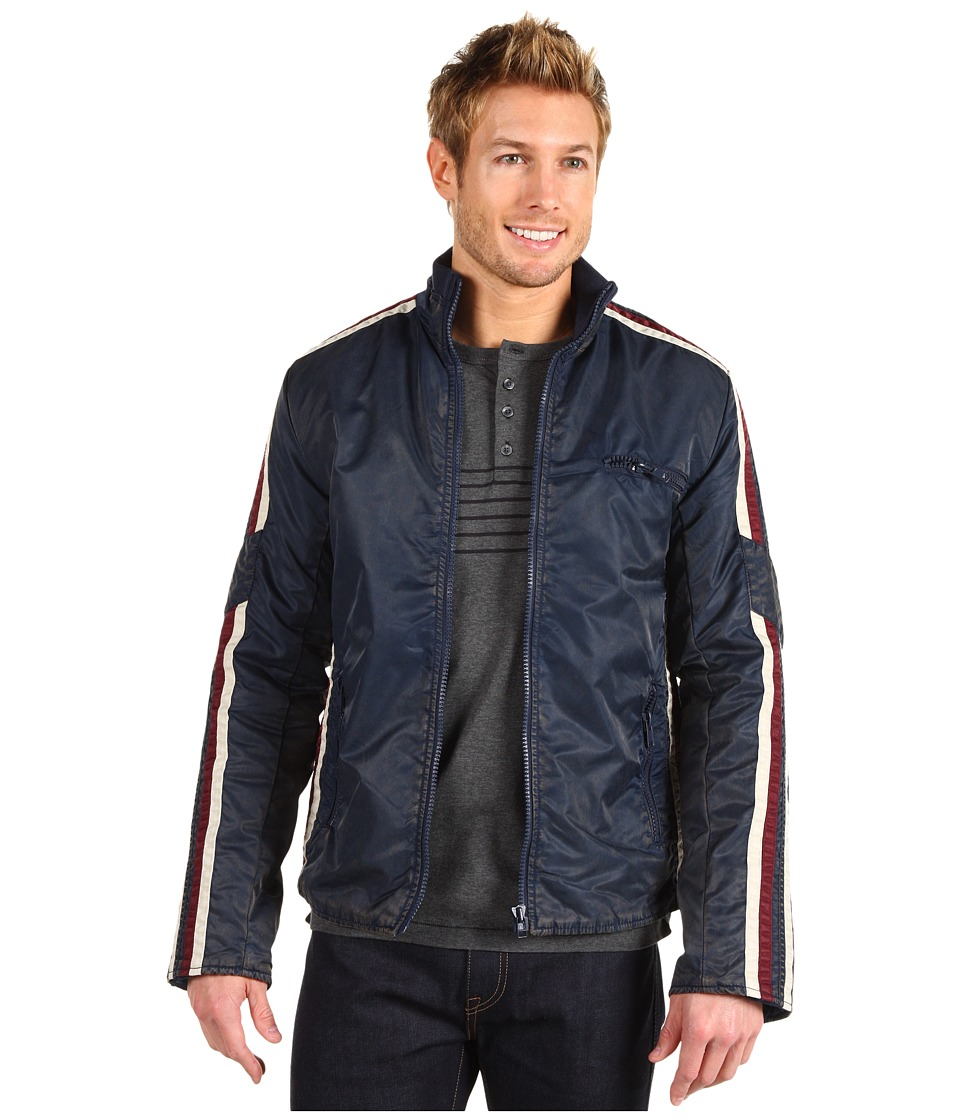 French Connection - Eagle Has Landed (Blue Black) Men's Coat
