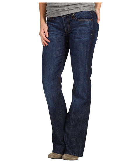 7 For All Mankind - Bootcut Short Inseam in Nouveau New York Dark (Nouveau New York Dark) Women's Jeans