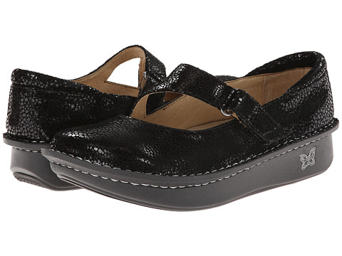 Alegria - Dayna Professional (Black Dottie) Women's Maryjane Shoes