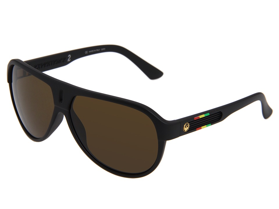 Dragon Alliance - Experience 2 (Rasta/Bronze) Plastic Frame Sport Sunglasses