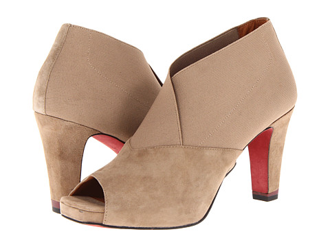 Oh! Shoes Paulina (Taupe Kid Suede) High Heels