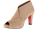 Oh! Shoes - Paulina (Taupe Kid Suede) - Footwear