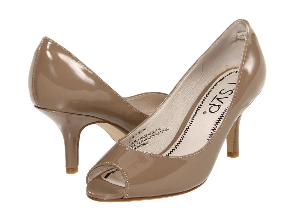 rsvp - Maren Peeptoe (Nude Patent) High Heels