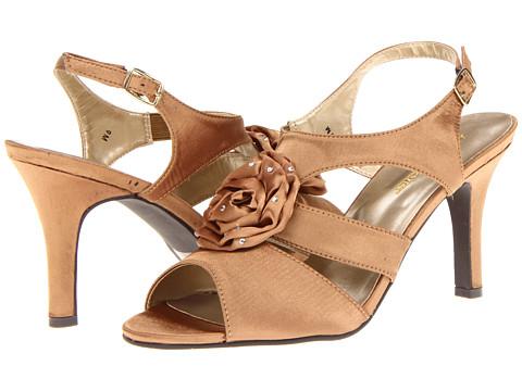 Annie - Charisma (Bronze Satin) Women's Sandals
