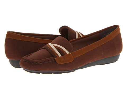 Annie Shelby (Brown Multi Velvet Suede) Women's Slip on  Shoes