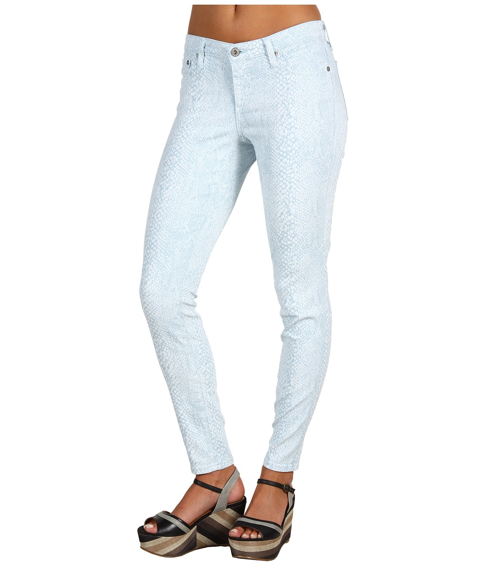AG Adriano Goldschmied - The Legging Ankle Snake Twill (Snake Ice Blue) Women's Casual Pants