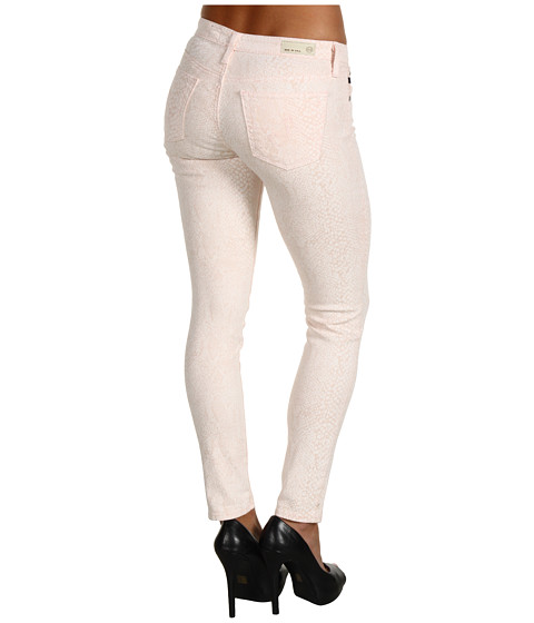 AG Adriano Goldschmied - The Legging Ankle Snake Twill (Snake Pink) Women's Casual Pants
