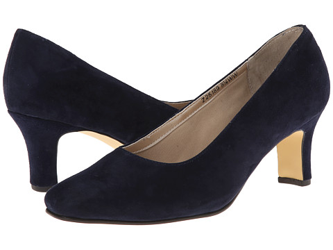 Fitzwell - Vincent Pump (Blue Suede) High Heels