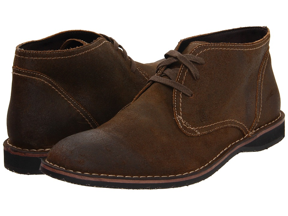 John Varvatos - Hipster Chukka (Dark Ghurka) Men's Lace-up Boots