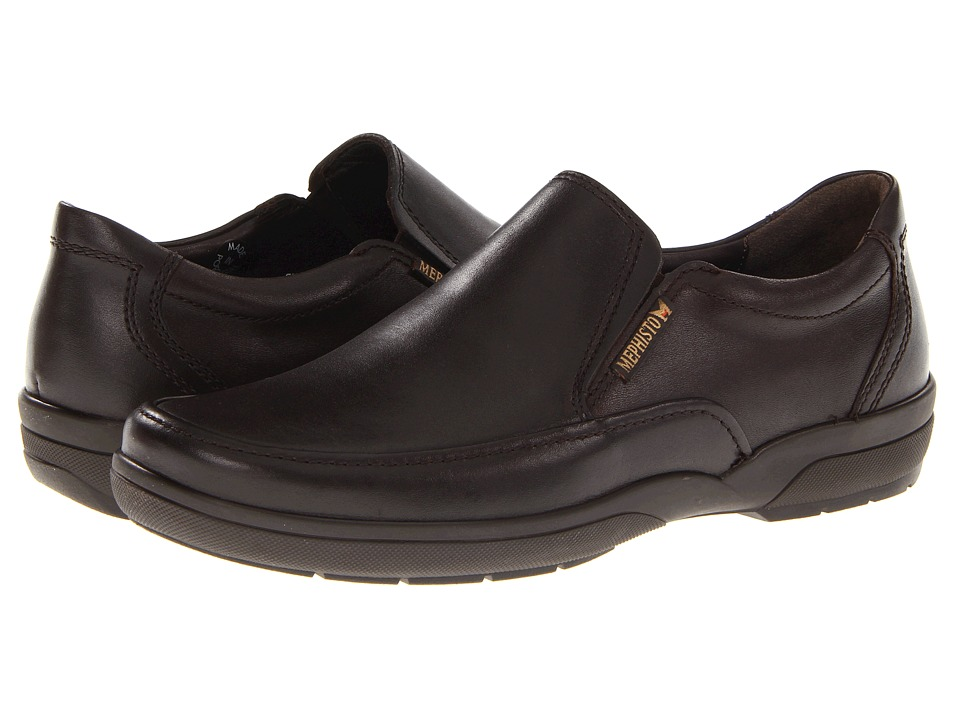 Mephisto - Adelio (Dark Brown Charles) Men's Slip on Shoes