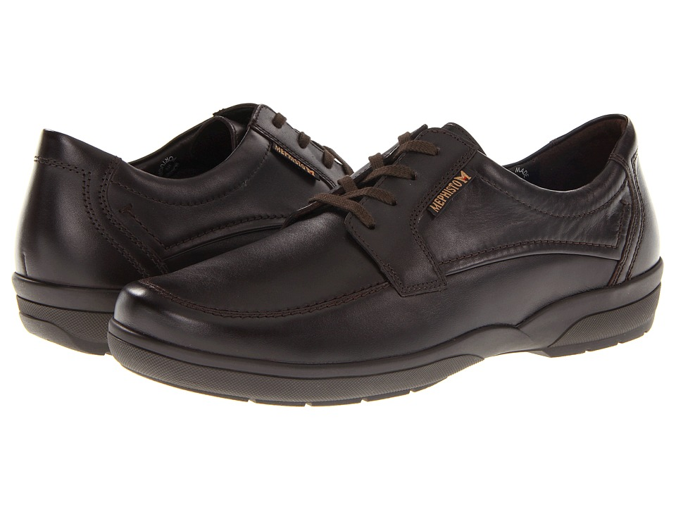 Mephisto - Agazio (Dark Brown Charles) Men's Lace up casual Shoes