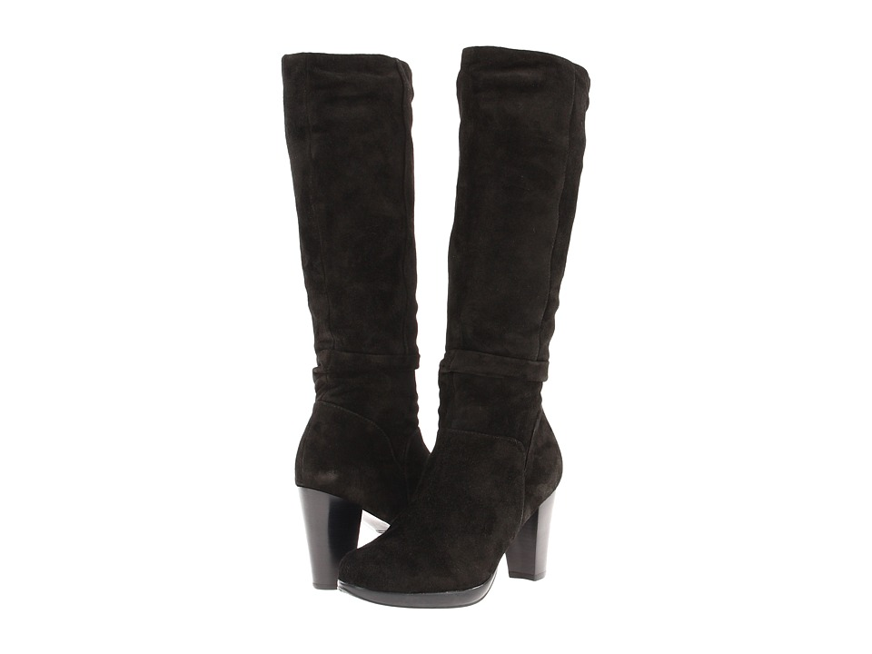 Blondo - Pasadena (Black Sporty Suede) Women's Zip Boots