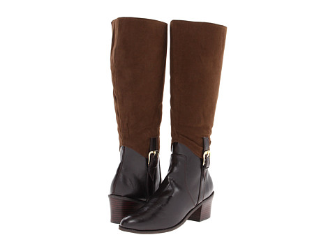 Annie - Amrit (Brown Antique/Brown Velvet Suede) Women's Zip Boots