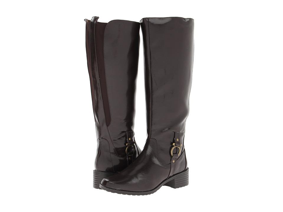 Annie - Raiger (Brown/Brown Stretch) Women's Zip Boots