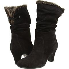 Blondo Vera (Black Dress Suede) Footwear