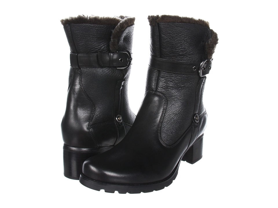 Blondo - Fantasia Waterproof (Black Nativo/Shearling) Women