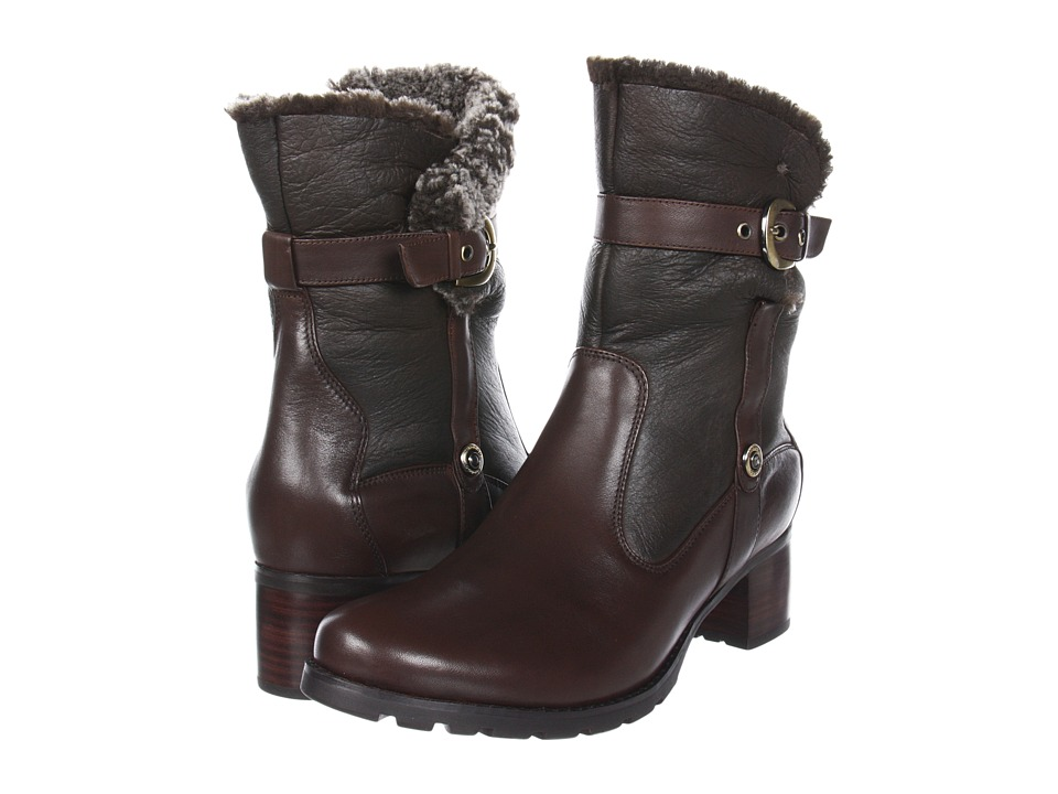 Blondo - Fantasia Waterproof (Teeta Di Moro Nativo/Shearling) Women's Zip Boots